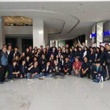 Kunjungan mahasiswa ikom ke MNC Group